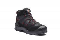 Dickies Schuhe Everyday Sicherheitssiefel S1-P Black/Red