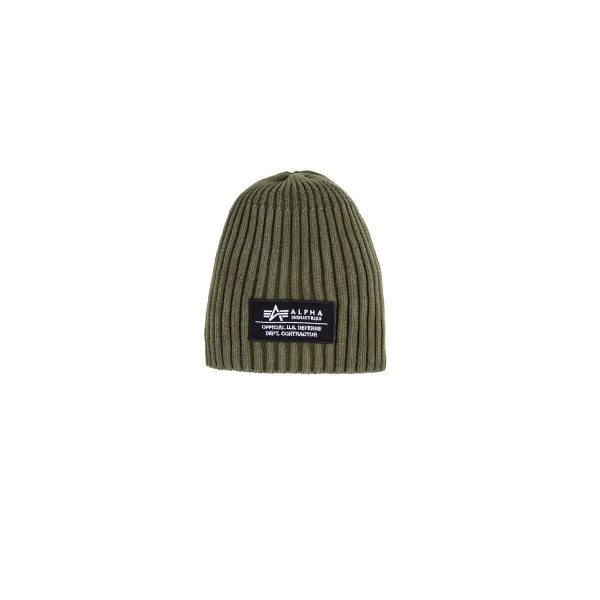 Alpha Industries Heavy Rib Beanie II Mützen Dark Green