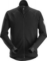 Snickers Workwear AllroundWork Midlayer Woll Arbeitsjacke schwarz