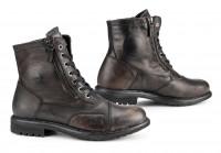 Falco Motorrad Schuhe / Sneaker Aviator Wasserdicht Black