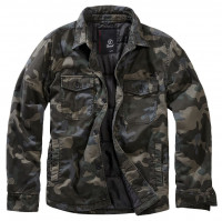 Brandit Jacke Lumberjacket Dark Camouflage