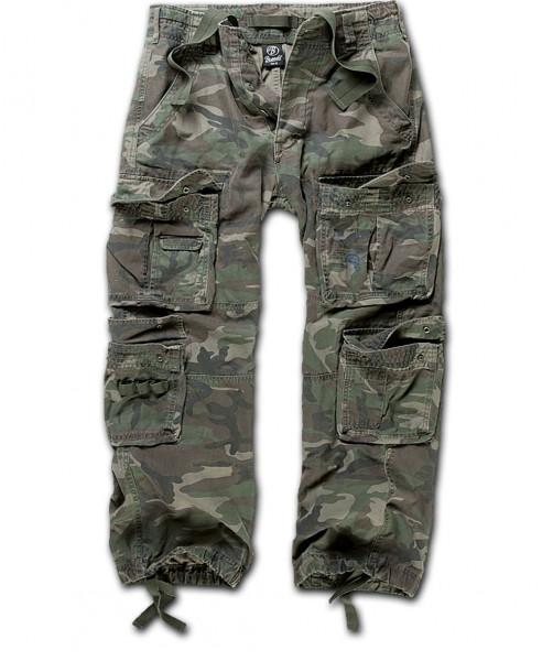 Brandit Hose Pure Vintage Trouser in Woodland