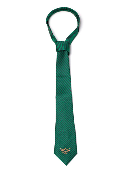 The Legend of Zelda Ties Zelda - Hyrule Necktie Green