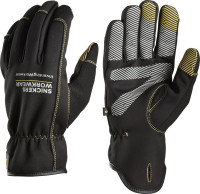 Snickers Workwear Weather Flex Dry Handschuhe schwarz