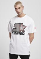 Starter Black Label T-Shirt Starter Multicolored Logo Tee White/Grey