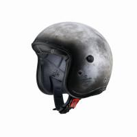 Caberg Motorrad Helm Jethelm Freeride Iron Gray
