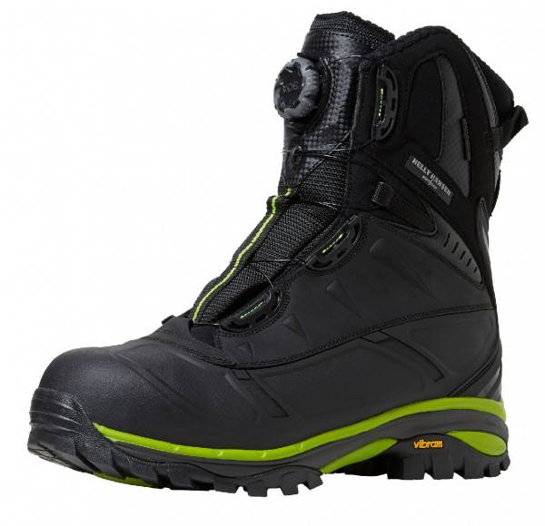 Helly Hansen Arbeitsschuh 78317 Magni Boa Winterboot 994 Black/Dark Lime