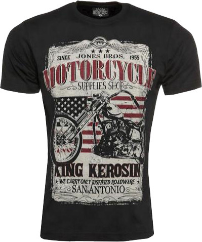 King Kerosin T-Shirt San Antonio Black