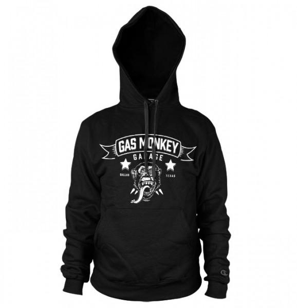 Gas Monkey Garage Hoodie Blood, Sweat, Beers Black