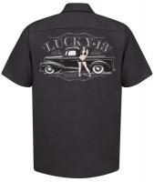 Lucky 13 Workshirt Cisco Black