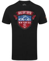 OCC Orange County Choppers T-Shirt New York Shield Black