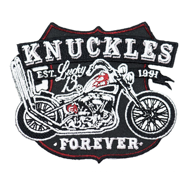 Lucky 13 Patch Knuckl Patch Black