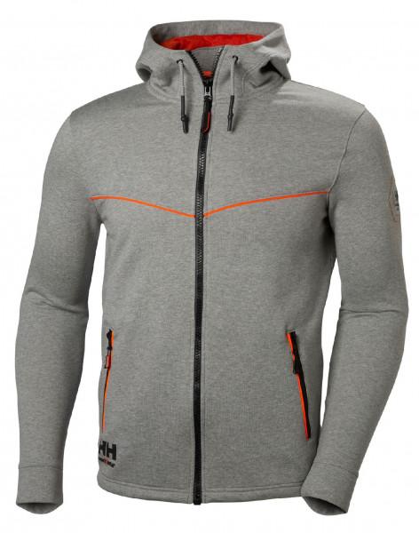 Helly Hansen Hoodie / Sweatshirt 79197 Chelsea Evolution Hood 930 Grey Melange