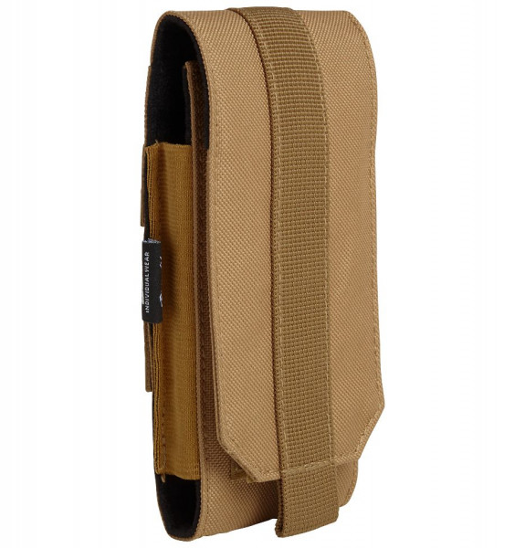 Brandit Tasche Molle Phone Pouch, large in Camel