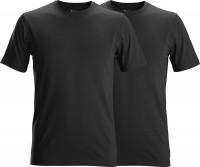 Snickers Workwear T-Shirts (2 Stück) schwarz