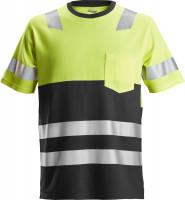 Snickers Workwear AllroundWork High-Vis T-Shirt Hi-Vis Gelb/Schwarz