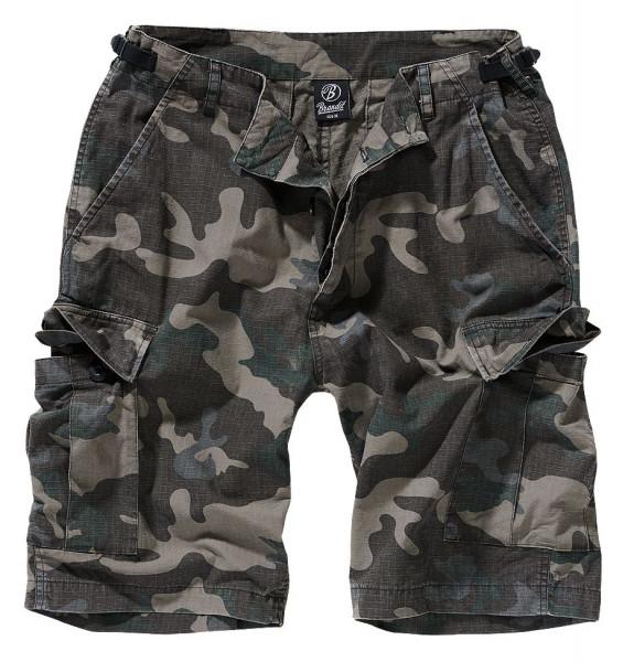 Brandit BDU Ripstop Shorts in Darkcamo