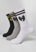 Wu-Wear Socken Socks 3-Pack White/Grey/Black