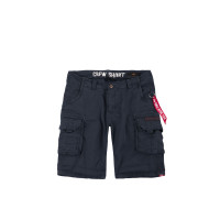 Alpha Industries Crew Short Shorts / Hose Rep.Blue