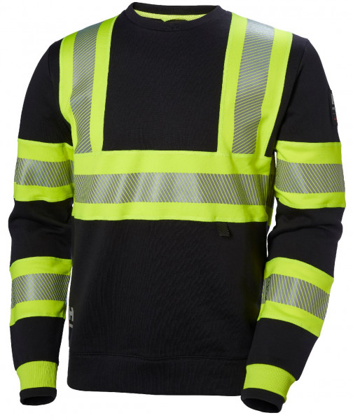 Helly Hansen Hoodie / Sweatshirt 79272 Icu Sweatershirt 369 Yellow/Ebony