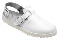 AWC Footwear Berufsschuhe Sandale mit Rist- und Fersenriemen in Weiß