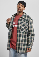Southpole Hemd Check Flannel Shirt Green