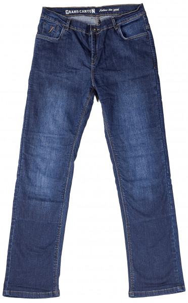 Grand Canyon Motorrad Hose Hornet Jeans Kurz Blue