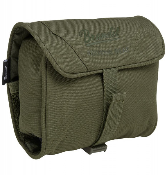 Brandit Tasche Toiletry Bag, medium in Olive