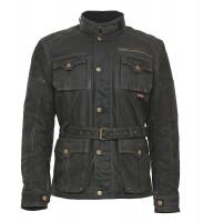 Bores Jacket Gregory Herren Wachsjacke lang Black
