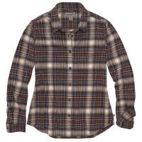 Carhartt Damen Hemd Hamilton Plaid Flannel Shirt Twilight