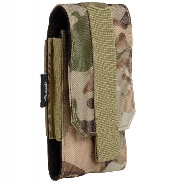 Brandit Tasche Molle Phone Pouch, medium in Tactical Camo