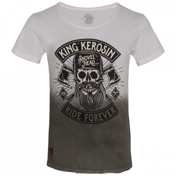 King Kerosin T-Shirt Lumberjack White