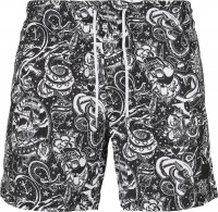 Urban Classics Badehose PatternSwim Shorts Tattoo Aop