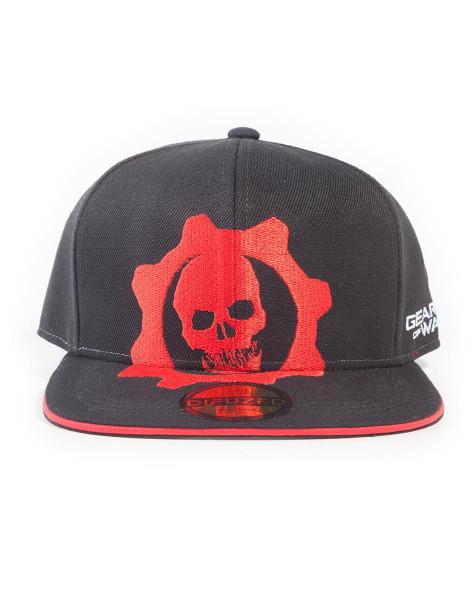 Gears Of War 5 - Red Helmet Snapback Cap Multicolor