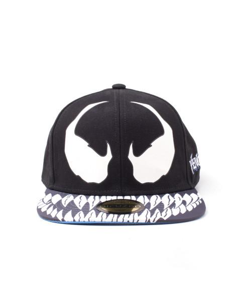Spiderman Cap Spiderman - Venom Snapback Cap Black