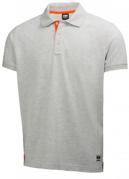 Helly Hansen T-Shirt 79025 Oxford Polo 950 Grey Melange