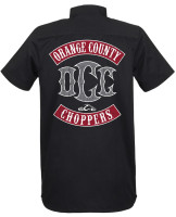 OCC Orange County Choppers Workershirt Colours Black