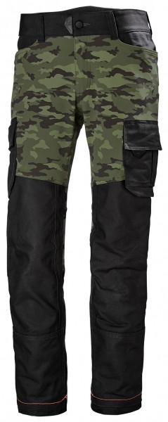 Helly Hansen Shorts / Hose 77445 Chelsea Evolution Service Pant 481 Camo