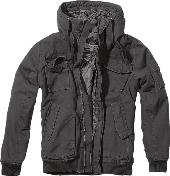 Brandit Jacke Bronx Jacket in Black