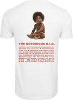 Mister Tee T-Shirt Biggie Ready To Die Tracklist Tee White