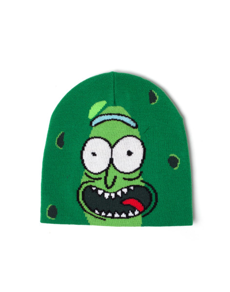 Rick and Morty Beanie Pickle Rick Beanie Green