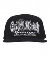 Gas Monkey Garage Cap Snap-Back OG Logo Black
