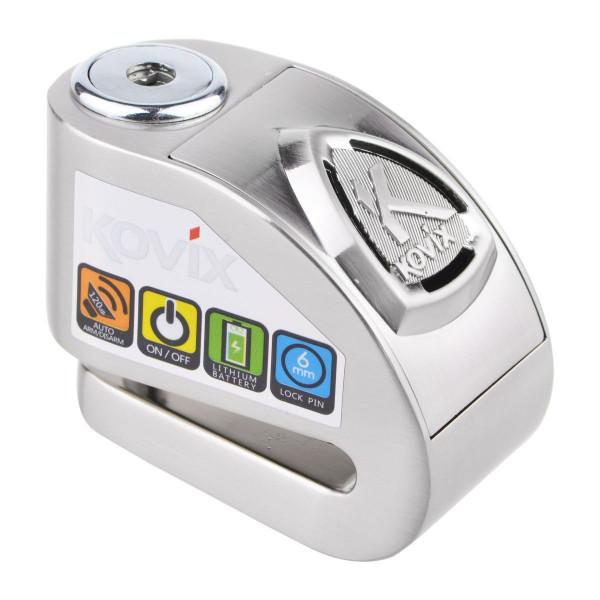 Kovix Kd6 Edelstahl 6mm Pin Alarmbremsscheibenschloss