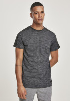 Southpole T-Shirt Shoulder Panel Tech Tee Marled Charcoal