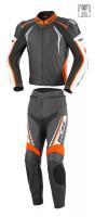 Büse Silverstone Pro Lederkombi 2Tlg. Schwarz/Orange