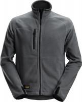 Snickers Workwear AllroundWork Polartec Fleece Arbeitsjacke Stahlgrau/Schwarz
