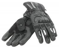 Bores Motorradhandschuhe Leder Handschuhe Wolves Black
