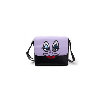 Disney Little Mermaid Ursula Croco Shoulderbag Black