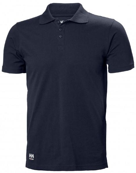 Helly Hansen T-Shirt 79167 Manchester Polo 590 Navy