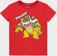 Super Mario - Bowser Kids T-Shirt Red